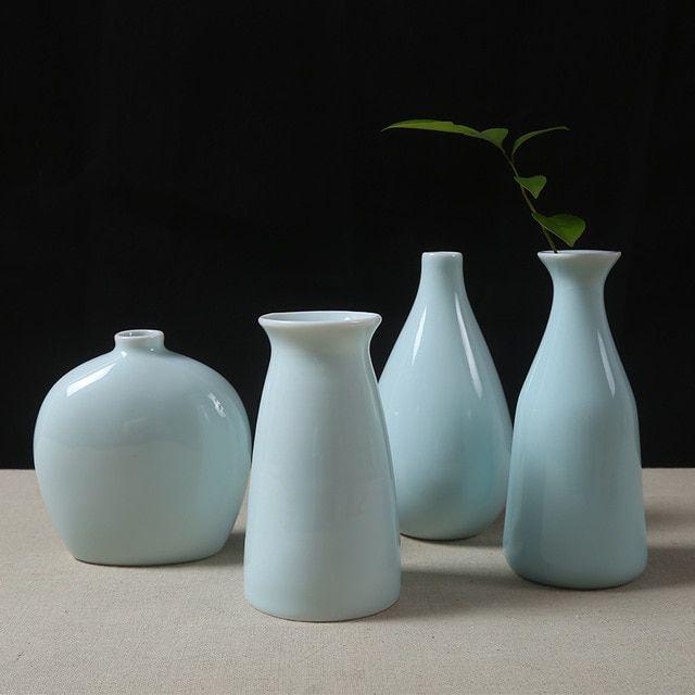 Hiasan Dalaman Rumah Simple Meletup Guci Vas Pernikahan Dekorasi Celadon Keramik Vas Dekoratif ornamen