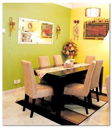 Hiasan Dalaman Rumah Teres Satu Tingkat Menarik Antara Klasik Inggeris Dan Jati Avec Hiasan Dalaman Rumah Teres Et