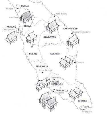 Hiasan Dalaman Rumah Tradisional Melayu Berguna Rumah Tradisional Di Malaysia