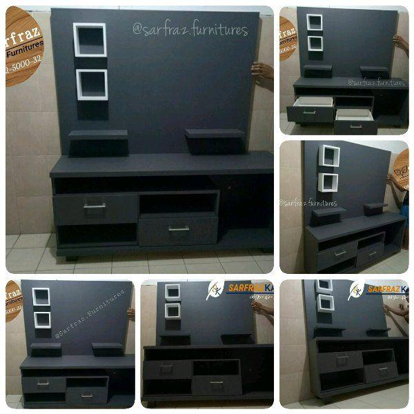 Hiasan Dalaman Untuk Rumah Flat Power Jual Promo 1sett Meja Tv Backdrop Tv Rak Hiasan Dinding Kode