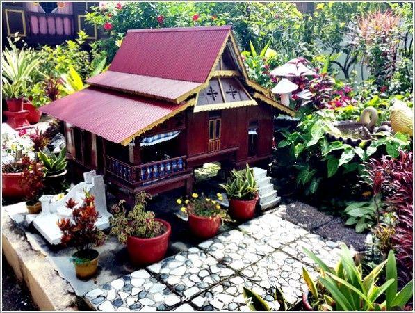 Hiasan Halaman Rumah Kampung Bernilai Villa Sentosa Kampung Morten Melaka