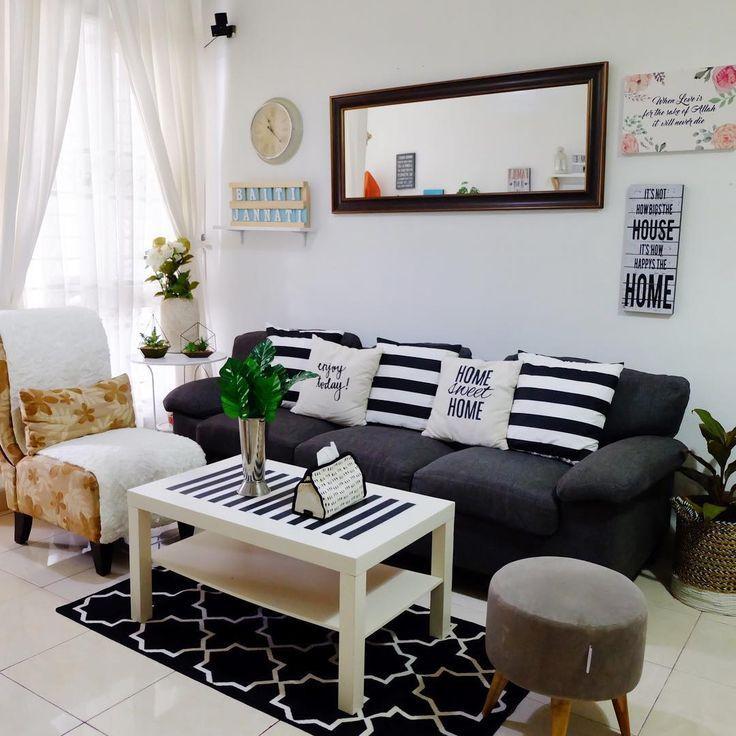 Deko Ruang Tamu Rumah Teres Setingkat Desain Dekorasi Rumah