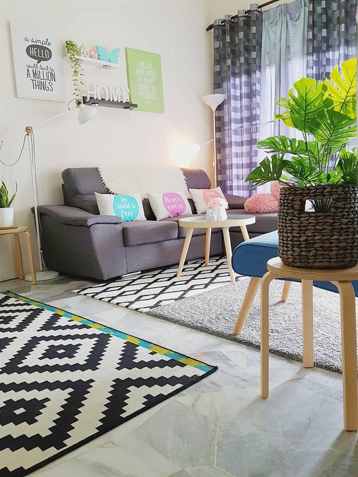Hiasan Rumah Flat 3 Bilik Terbaik Inspirasi Hiasan Dalaman Konsep Scandinavian Gaya Sederhana Hias