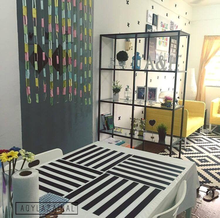 Hiasan Rumah Flat Terbaik Dekorasi Menarik Gaya Ikea Di Rumah Flat Dengan Bajet Minima Avec