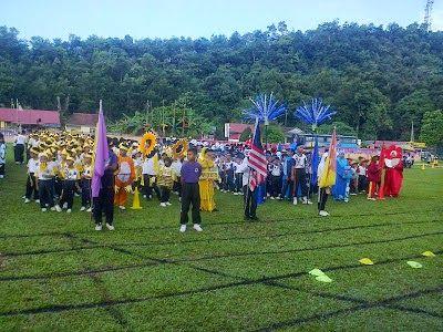 Hiasan Rumah Sukan Hijau Hebat Tetamu istimewa Teks Pengacara Majlis Kejohanan Sukan Tahunan Sekolah