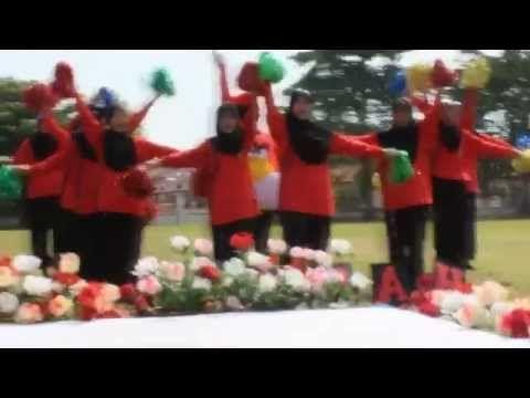 SMK Ayer Keroh Pasukan Sorak Rumah Merah 2012