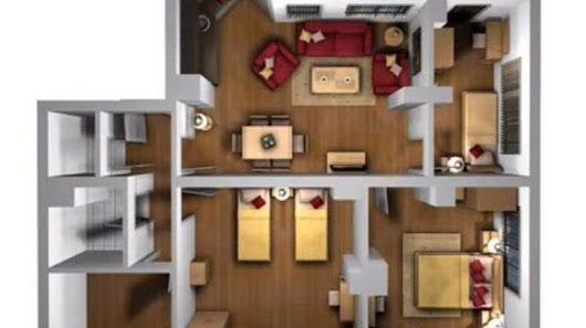 Konsep Design Reka Bentuk Hiasan Dalaman Rumah Teres Moden