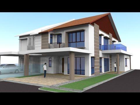 Kos Pelan Ubahsuai Rumah Baik Rekabentuk Ubahsuai Rumah Teres 2 Tingkat End Lot Seksyen 35 Shah