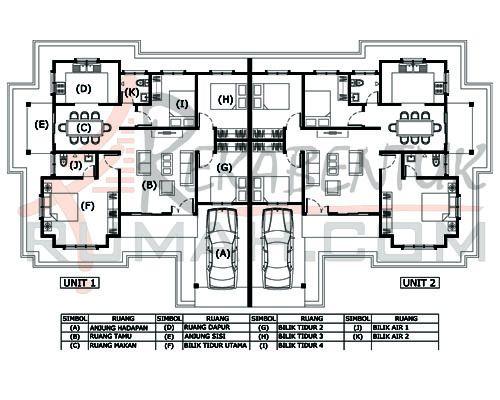 RUMAH SEMI D B1A 04 4b 2ba 84 x43′ – 1367 kaki persegi