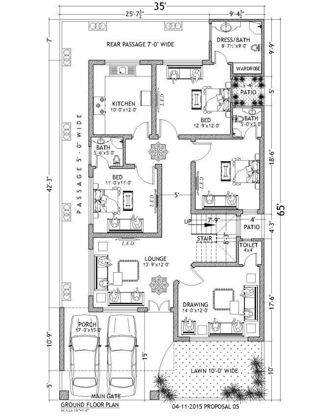 Pelan 3d Rumah Bernilai Shani 196 I Will Make 2d and 3d Floor Plans Using Autocad for $5