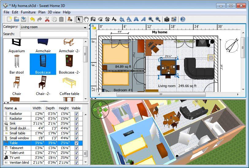 Pelan 3d Rumah Terbaik Cara Mudah Mendesain Rumah Dengan Sweet Home 3d