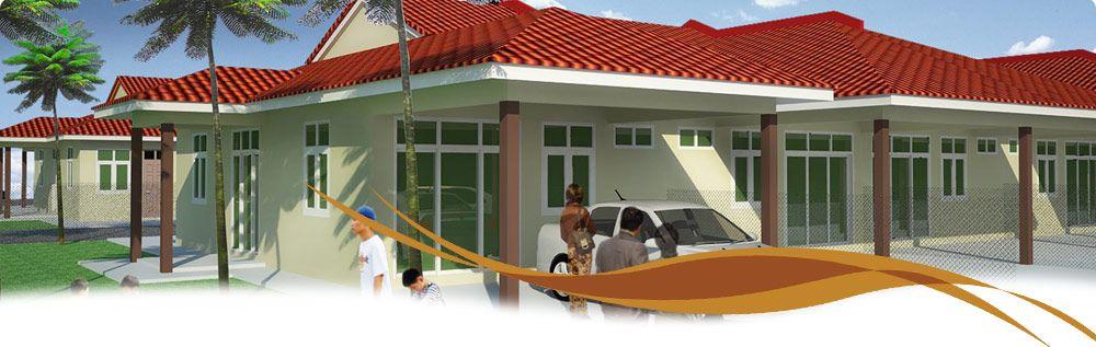 Pelan atap Rumah Terbaik Taman Bukit Rangin 3