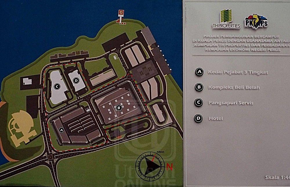 Pelan Bangunan Rumah Kedai Baik Projek Mega Bakal Ubah Wajah Kuala Perlis Perlis Utusan Line