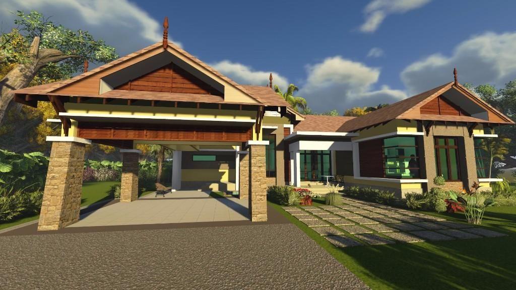 Pelan Bangunan Rumah Meletup Arkitek & Lukis Pelan Pembinaan & Bangunan Tanah Merah