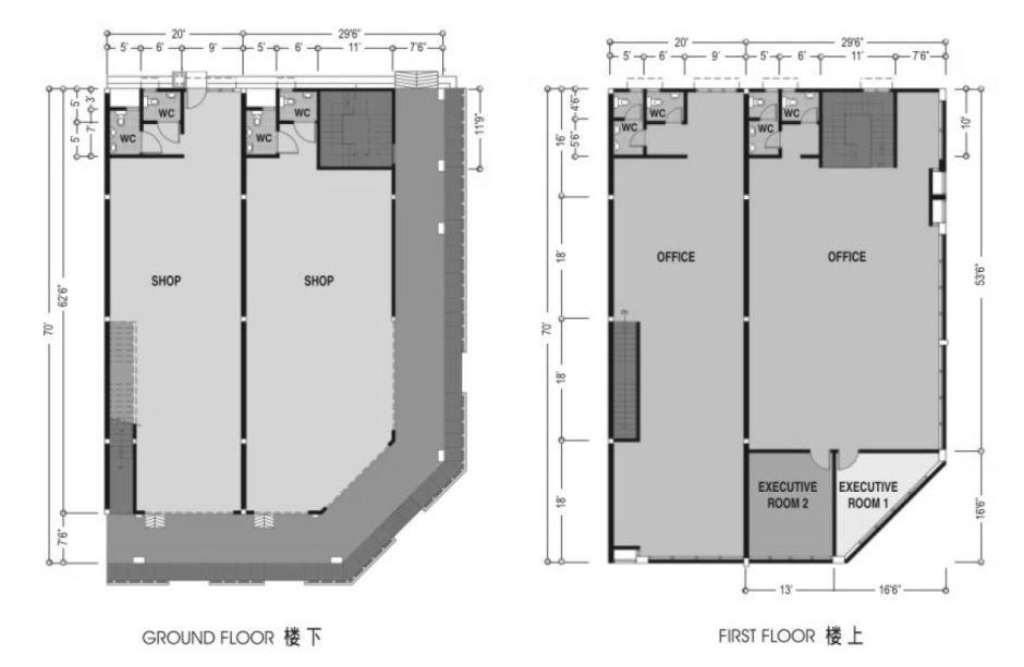 Pelan Bangunan Rumah Menarik Nam Development Klebang Ria Klebang Business Park Shop Fice