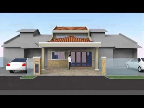 Pelan Bumbung Rumah Banglo Setingkat Baik Rekabentuk Ubahsuai Rumah Teres 1 Tingkat Ke 2 Tingkat Seksyen 18