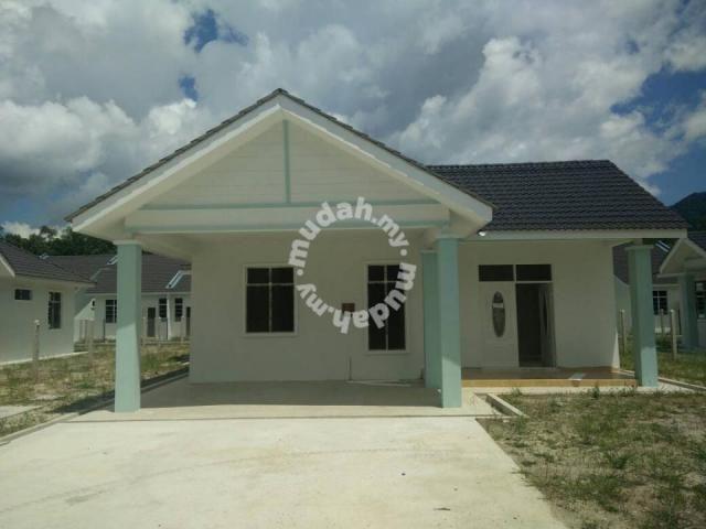 Pelan Bumbung Rumah Banglo Setingkat Bermanfaat Banglo Setingkat Di Air Hitam Houses for Sale In Dungun Terengganu