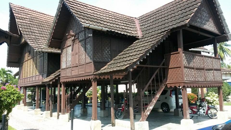 Pelan Bumbung Rumah Hebat Rumah Kutai Rumah Tradisional Negeri Perak