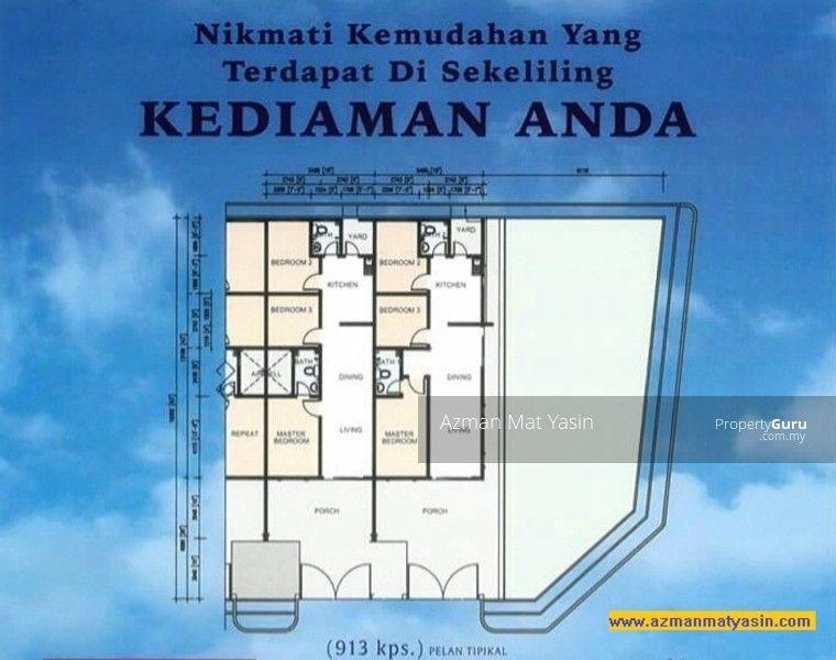 Pelan Halaman Rumah Bernilai Projek Rumah Teres Baru Senja Laman Serai Bandar Baru Pasir Mas Pt