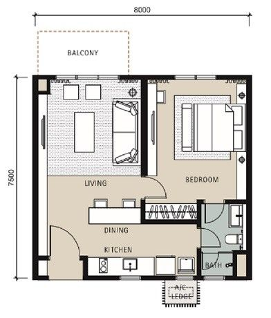 Pelan Lantai Rumah 5 Bilik Berguna Bahasa] Novum Bangsar south for Sale Eupe Corporation Berhad