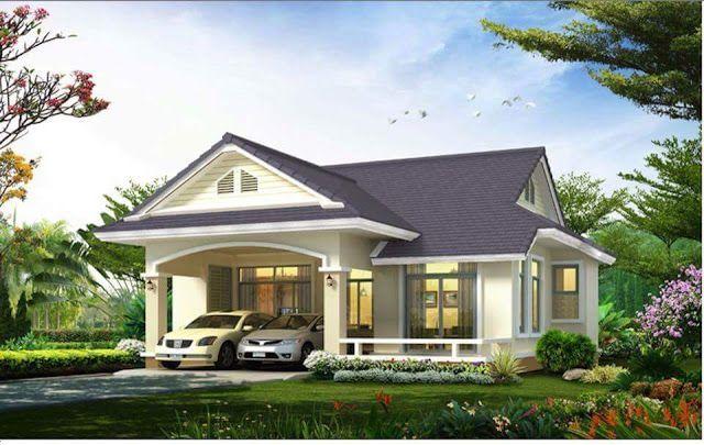 Pelan Lantai Rumah Banglo 5 Bilik Bermanfaat Pandangan Hadapan Pakej topaz 4 Bilik 3 Bilik Air Dan 1500 Kaki