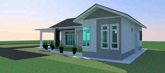 Pelan Lantai Rumah Banglo Setingkat 3 Bilik Power Pin Oleh Azurez Walterz Pada Banglo Setingkat Pada Tahun 2018