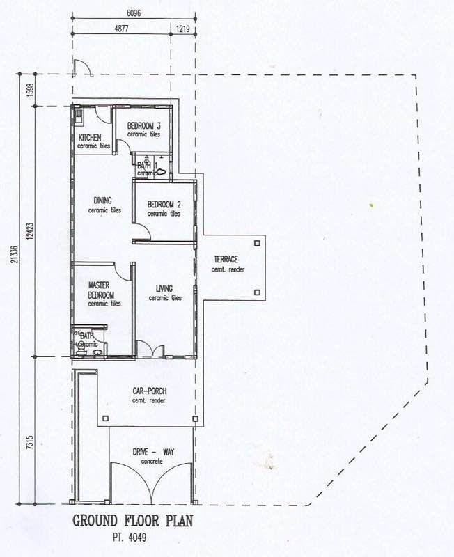 Rumah Teres 1 Tingkat Corner Lot Taman Nusari Bayu 1 Untuk Dijual Ejen Hartanah