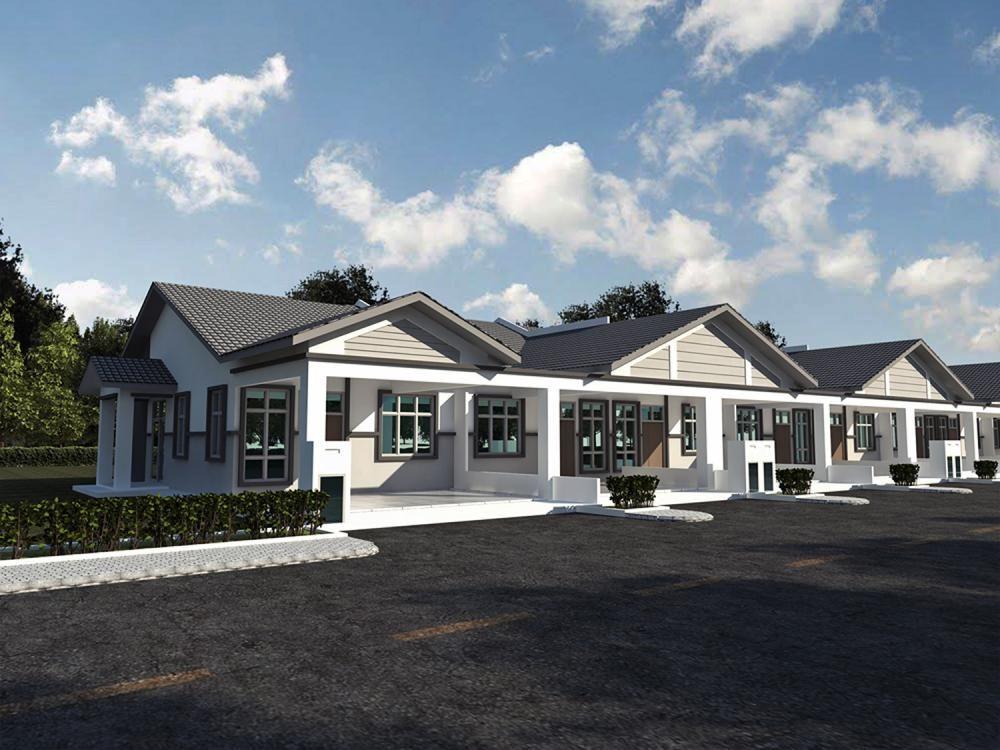 Pelan Lantai Rumah Corner Lot Bermanfaat Pr1ma Pulau Sebang