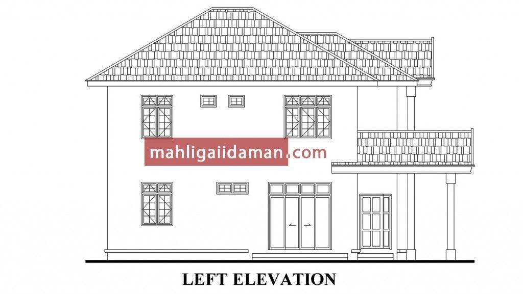 Pelan Lantai Rumah Hebat Dalam Pembinaan 07 – Mahligai Idaman