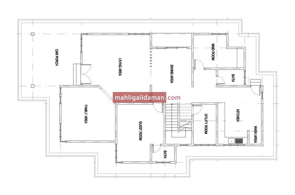 Pelan Lantai Rumah Hebat Dalam Pembinaan 35 – Mahligai Idaman