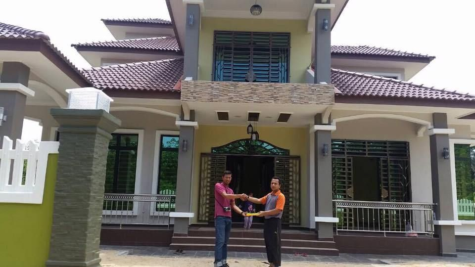 Pelan Lantai Rumah Idaman Meletup Tahniah Rumah Banglo Paling Cantik Di Terengganu
