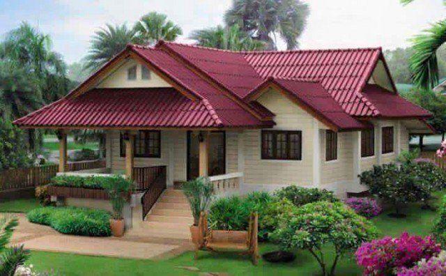 Pelan Lantai Rumah Kampung Moden Bermanfaat 9 Idea Rekabentuk Rumah Tradisional Moden
