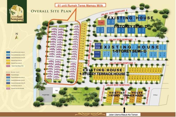 Pelan Lantai Rumah Melaka Bernilai Taman Seri Sempang Rumah Mampu Milik
