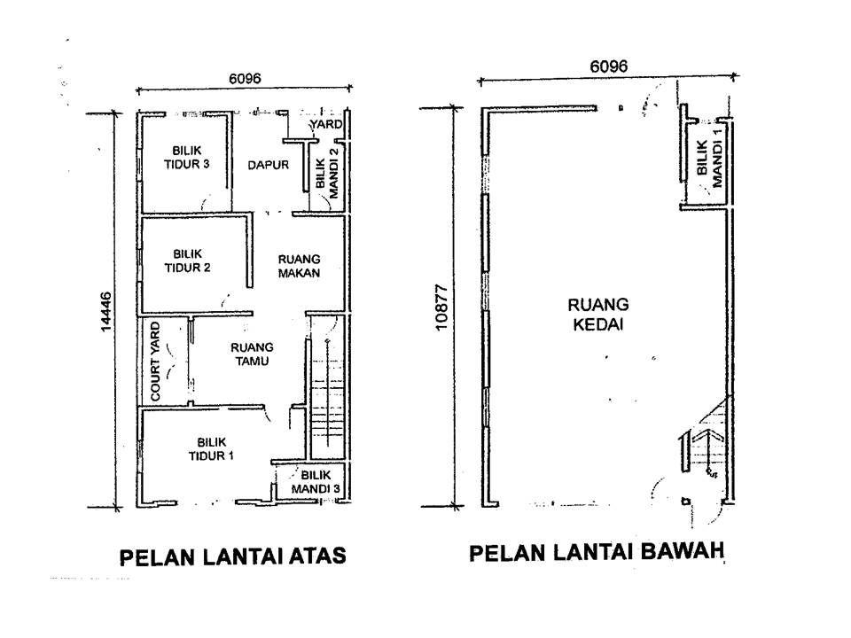 Pelan Lantai Rumah Melaka Power Yayasan Melaka