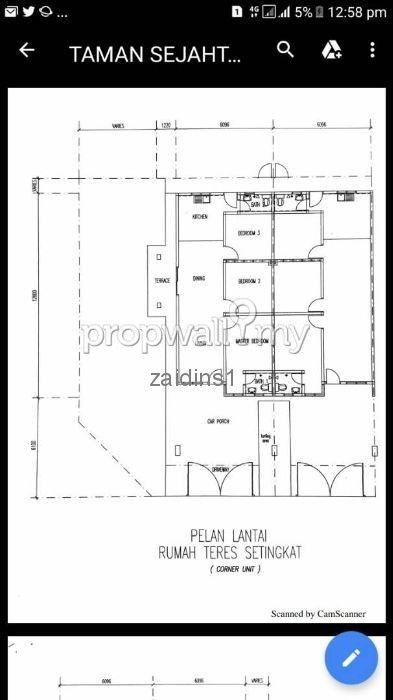 Pelan Lantai Rumah Pahang Penting Kuantan Pahang 1 Sty Terrace Link House for Sale by Dins