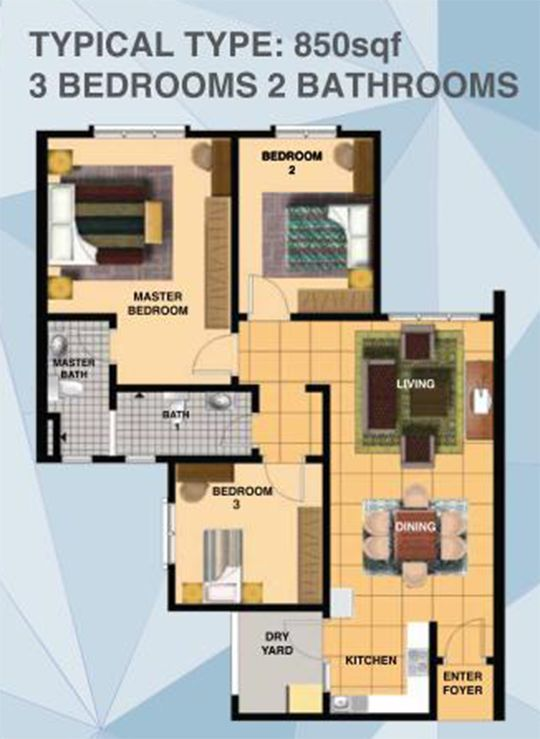 Pelan Lantai Rumah Ppr Berguna Myhome Impiana Sky Residensi Bukit Jalil
