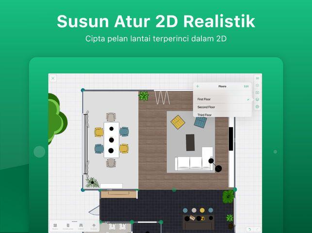 Pelan Lantai Rumah Terkini Menarik Perancang 5d Rekaan Dalaman Di App Store