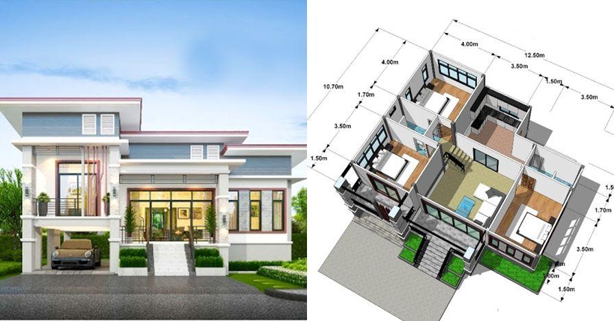 15 desain minimalis 3 kamar komplet dengan ukurannya z