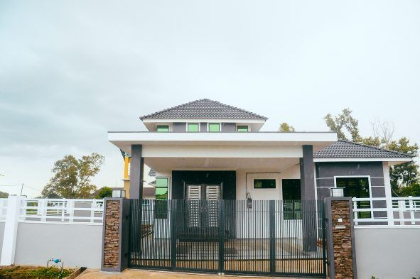 Bina Rumah Aas Tanah Sendiri Pekang Pahang