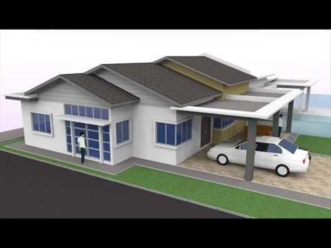 Rekabentuk Tambahan Ubahsuai Rumah Berkembar 1 Tingkat di Seksyen 30 Jalan Kebun Shah Alam