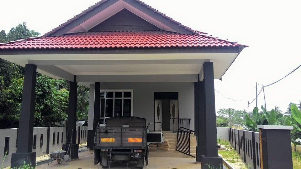 Rumah Banglo 2 Tingkat Untuk di jual pembinaan hampir siap Lokasi