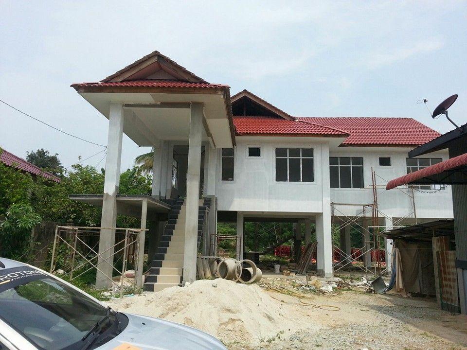 Pelan Rumah 1700 Kaki Persegi Power Rumah Banglo Mewah Untuk Di Jual Tanjung Chat Kota Bharu Kelantan