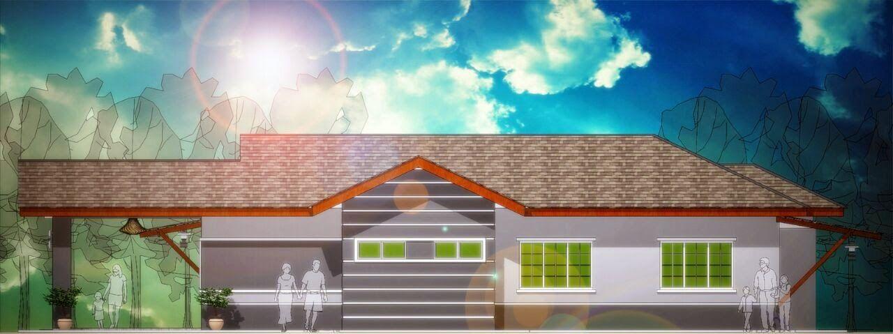 Pelan Rumah 2 Tingkat 3 Bilik Menarik Banglo Mampu Milik Rm200k Kebawah