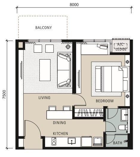 Pelan Rumah 2 Tingkat 5 Bilik Menarik Bahasa] Novum Bangsar south for Sale Eupe Corporation Berhad