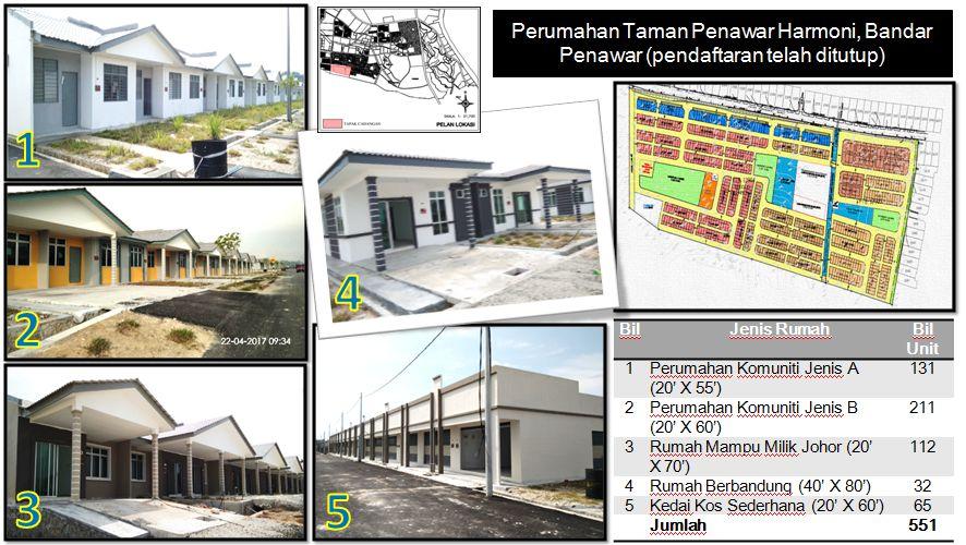 Pelan Rumah 22 X 70 Menarik Hartanah – Lembaga Kemajuan Johor Tenggara