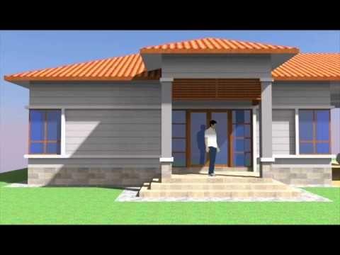 Cadangan Rekabentuk Pelan Banglo 1 Tingkat & 4 bilik 3 bilik air
