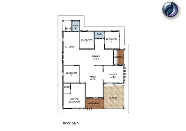 Pelan Rumah 3 Bilik Bernilai Spesifikasi Pelan Design