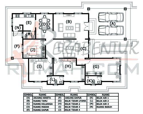 Pelan Rumah 3 Bilik Setingkat Baik Design Rumah Setingkat Archives Page 2 Of 3 Rekabentuk