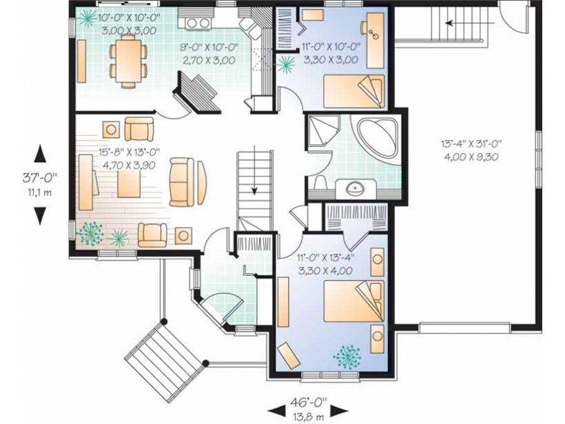 70 X 50 House Plans Single Level House Floor Plans Fresh 1 1 2 Story House