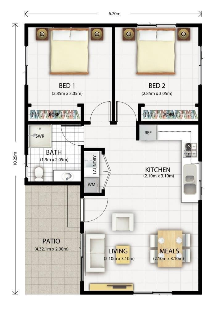 converting a double garage into a granny flat Google Search Great pin For